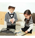 Baju Model Seragam Korea AidaKids Stripe Boys-Girls