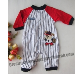 Jumper Lengan Panjang Baseball Stripes – RD12