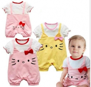 Romper Ribbon 3D Cuties Hellokitty