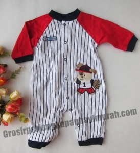 Jumper Baseball stripes, size-3,6,9,12m